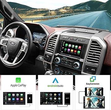 Radio de Coche de 2 DIN ATOTO - SA102 Starter (YS102SL) CarPlay y Android Auto, Bluetooth, Enlace de duplicación de teléfono, Radio, Video y Audio USB
