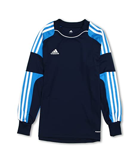 f712ee34c63 Amazon.com : adidas Youth Revigo 13 Goalkeeper Jersey - Navy Blue : Clothing