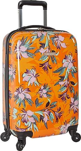 Ninewest Luggage 20 Expandable Hardside Spinner Carryon, Orange Tropic