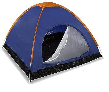 Tentes de camping /à double couche /à lext/érieur tente familiale Durable /&e 2-3 Personnes PZJ/® Tent Dome Grande Instantan/ées Tentes Anti UV 4 Places de Camping Plage Randonn/ée Familiale Exterieur avec Moustiquaire