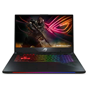 "ROG Strix SCAR II Gaming Laptop, 17.3"" 144Hz 3ms IPS Type, Intel Core i7-8750H Processor, NVIDIA GeForce GTX 1060 6GB GDDR5, 16GB DDR4, 256GB PCIe SSD + 1TB HDD, RGB, Windows 10 Home - GL704GM-DH74"
