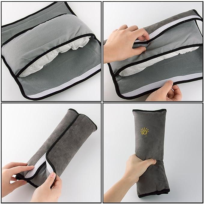 Auto Almohada para Cintur/ón de Seguridad Soporte de la Cabeza Proteja Hombro para Ni/ños Beb/és Adultos X-BLTU Almohadillas para Cintur/ón Coche Seguridad,Almohadillas Protectores de Hombro