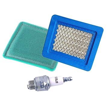Lot de 5/filtres /à air pour Briggs /& Stratton 491588S 5043B 5043D 399959 3364 119-1909