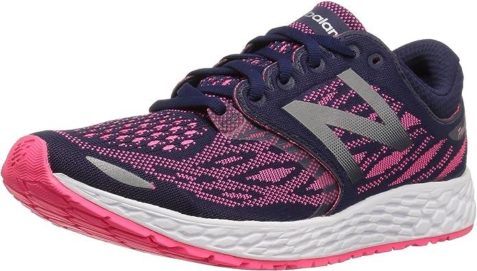 New Balance Fresh Foam Zante V3 Sneakers Laufschuhe Damen Blau/Rosa (Dark Denim/Alpha Pink)