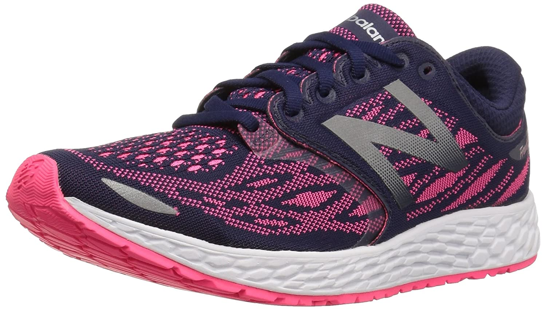 New Balance Women's ZanteV2 Breathe Running Shoe B01FSJ559S 8 B(M) US|Dark Denim/Alpha Pink