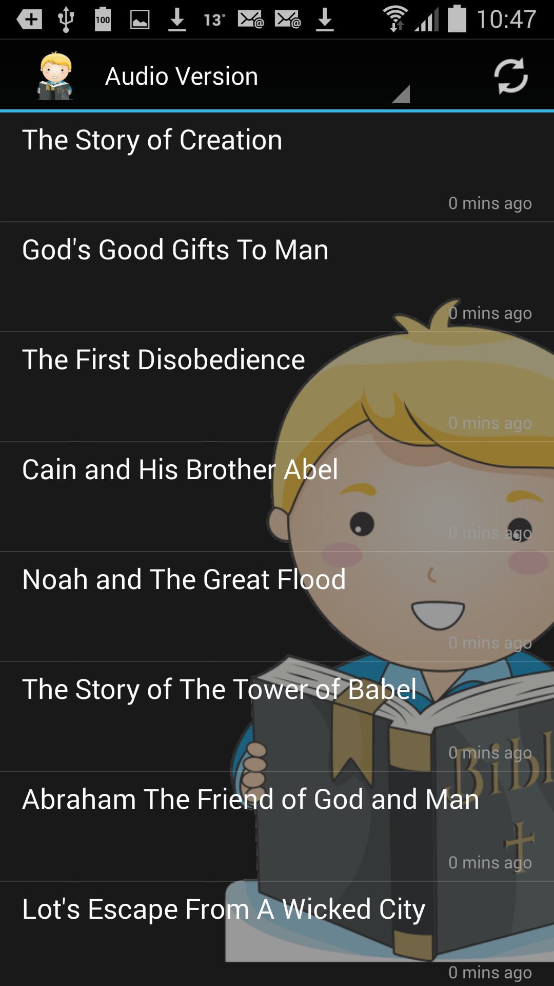 how to get audiobook on android
