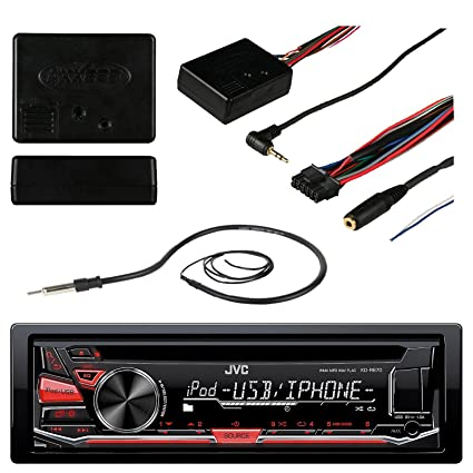 amazon com jvc kd r670 car cd usb stereo multimedia receiver bundle rh amazon com