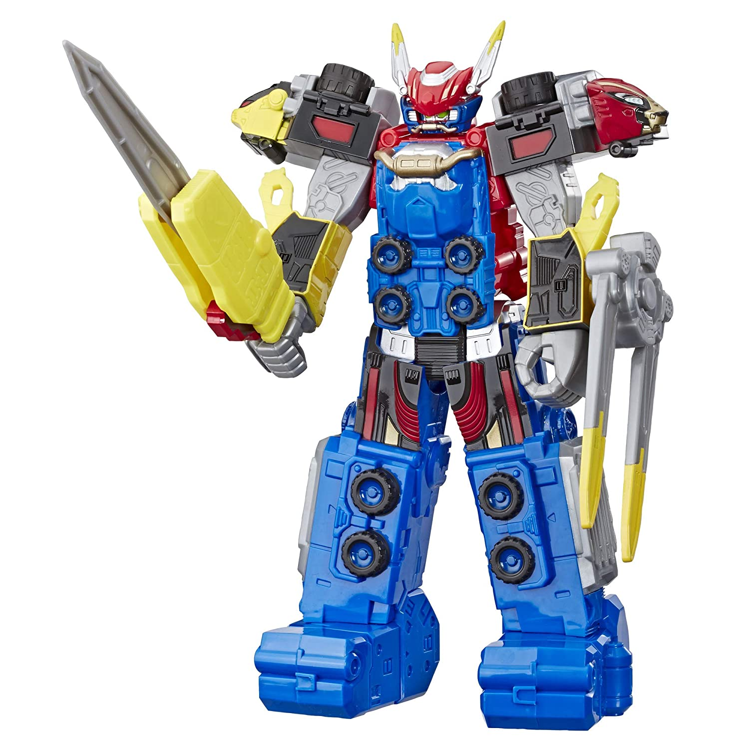 "Power Rangers Beast Morphers Beast-X Megazord 10""-Scale Action Figure Toy from TV Show"