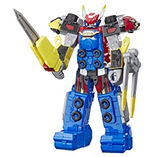 """Power Rangers Beast Morphers Beast-X Megazord 10""""-Scale Action Figure Toy from TV Show"""