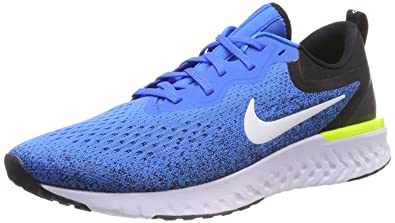 1bdc2f5b23c19 Nike Odyssey React Men s Running Shoe Green Abyss Volt-Blue Force-White 7.5