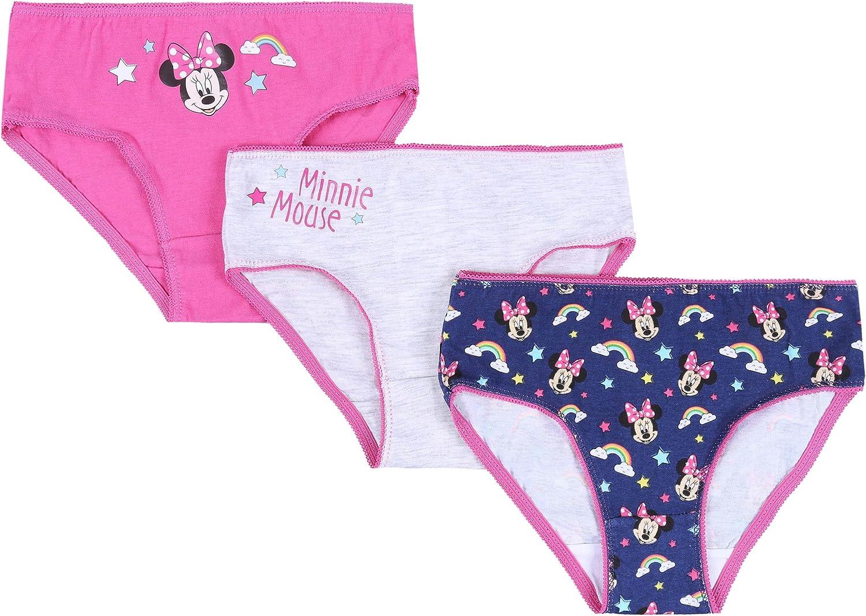 sarcia.eu 3X Culottes Rose et Bleu Marine Minnie Mouse