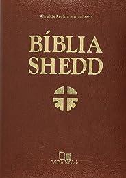 Bíblia Shedd - Capa Covertex Marrom
