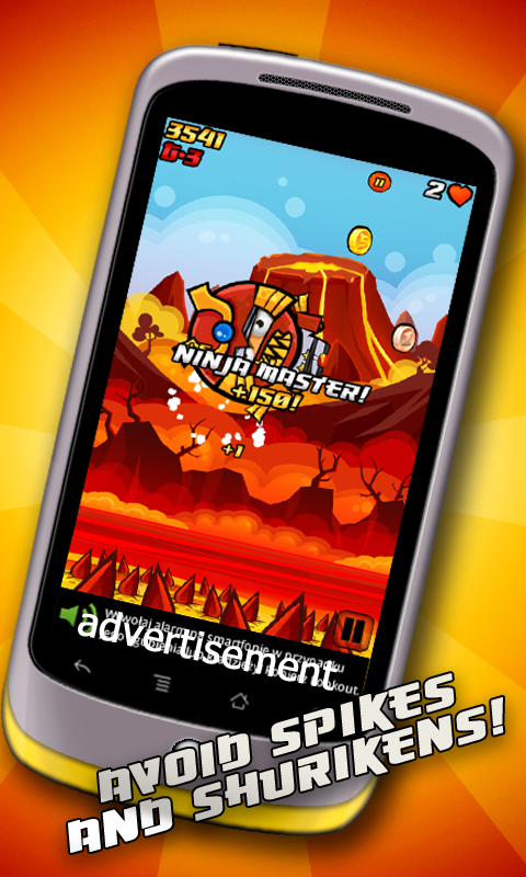Amazon.com: Gravity Ninja: Appstore for Android