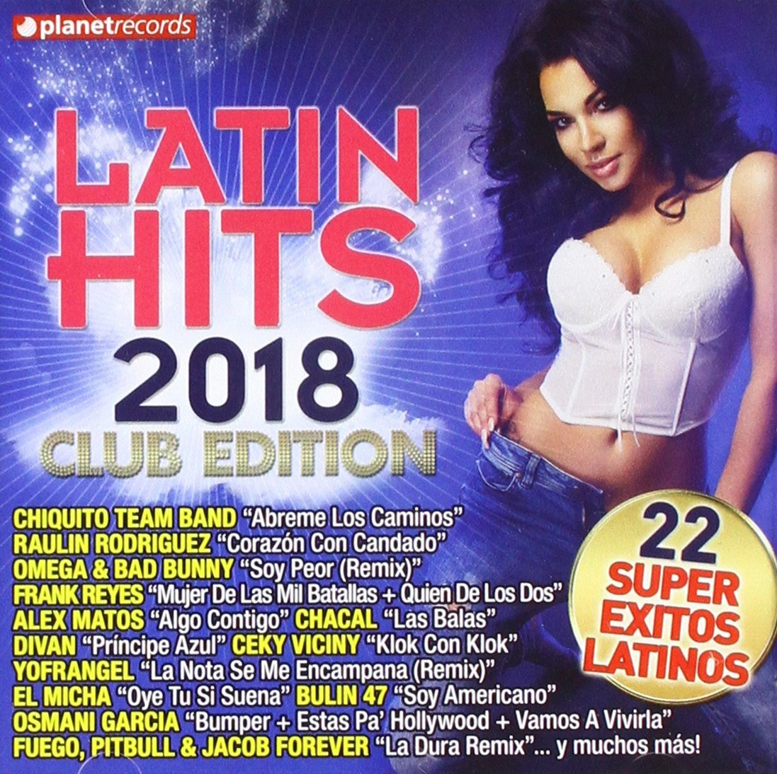 Latin Hits 2018 by Planet Records (Soh)