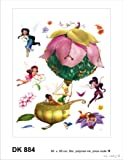 Stickers Muraux Repositionnables XXL Disney FEE CLOCHETTE & FEES