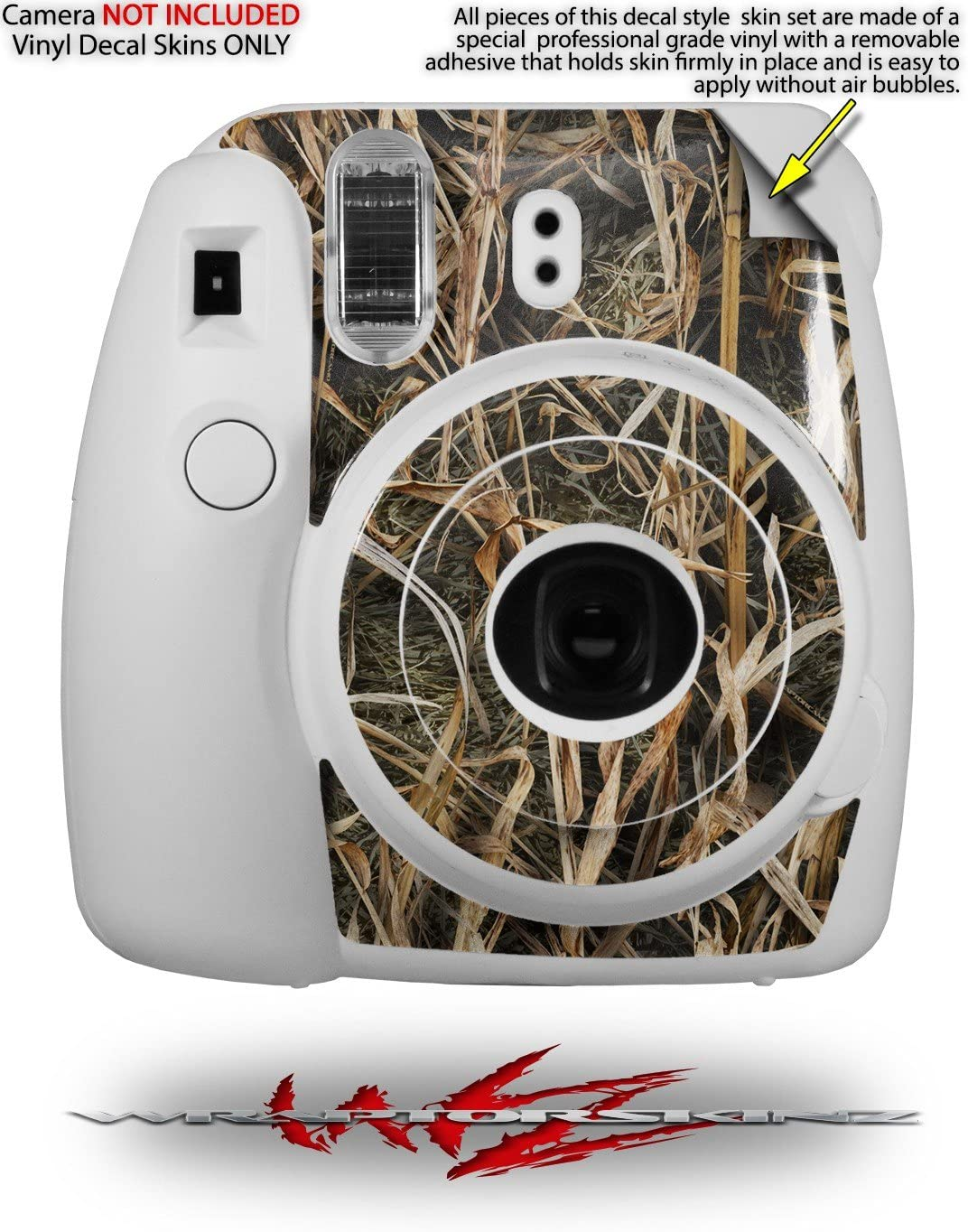 CAMERA NOT INCLUDED WraptorSkinz Skin Decal Wrap for Fujifilm Instax Mini 8 Camera Union Jack 02