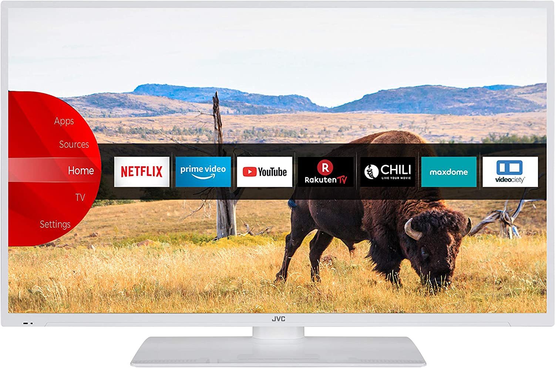 Jvc Lt 40v55lwa 102 Cm 40 Zoll Fernseher Smart Tv Inkl Prime Video Netflix Youtube Full Hd Bluetooth Triple Tuner Heimkino Tv Video