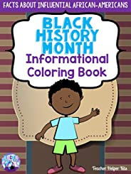 Black History Month Coloring Book