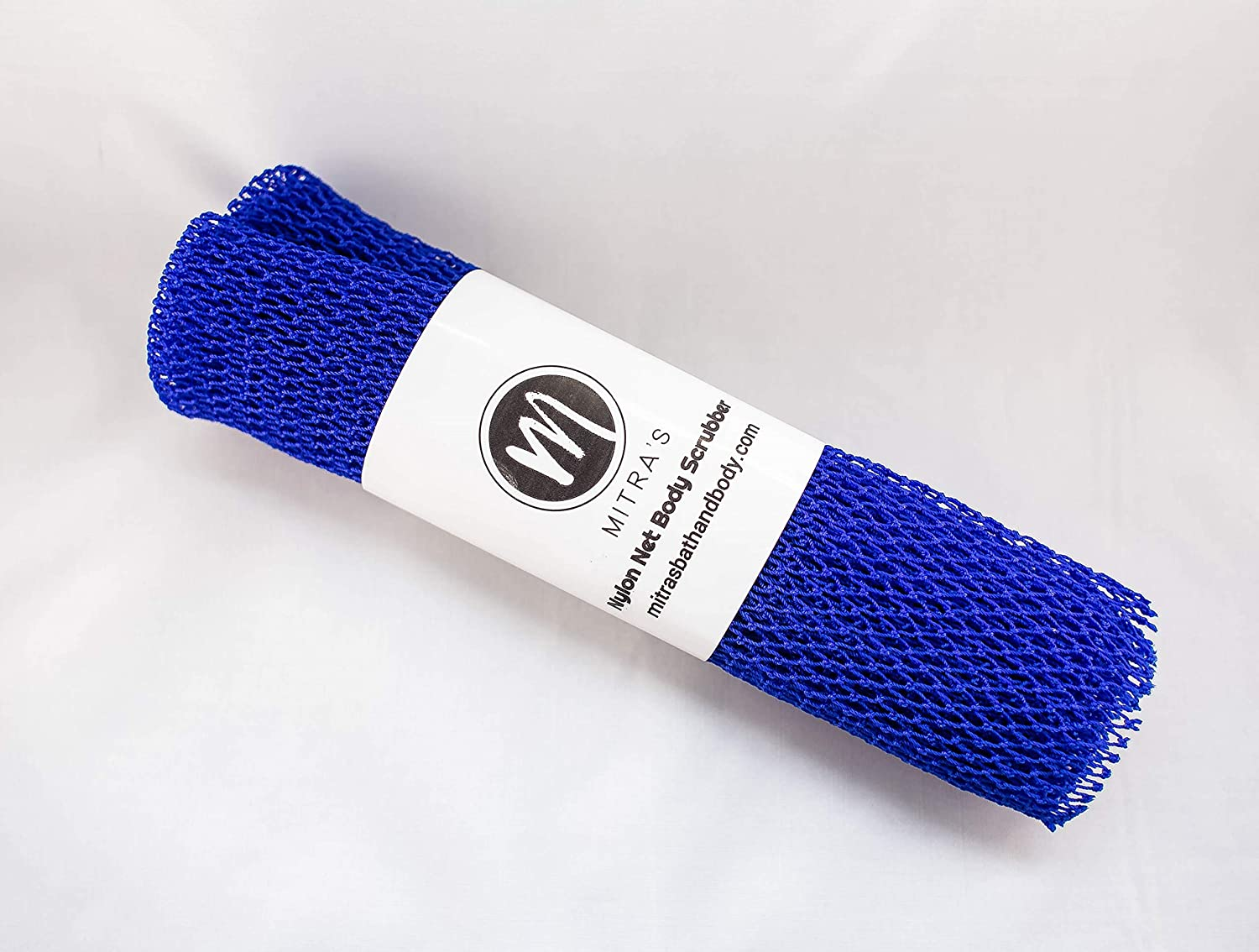 African Net Exfoliating Shower Body Scrubber/ Exfoliating Back Scrubber/Skin Smoother/ Great for Daily Use - Blue