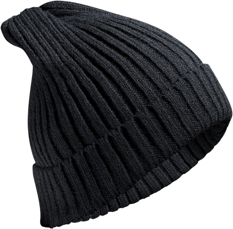 Mütze Beanie Slouch Strickmütze Zopfmuster Grobstrick viele Farben
