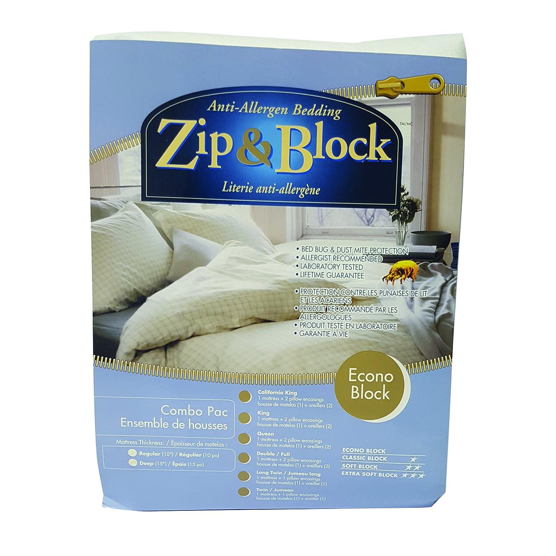 Amazon Com Zip And Block Econo Block Anti Allergen Bed Bug Proof