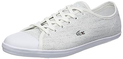 Lacoste Ziane Sneaker 318 4 Caw, Zapatillas para Mujer, Blanco Wht 21g, 36