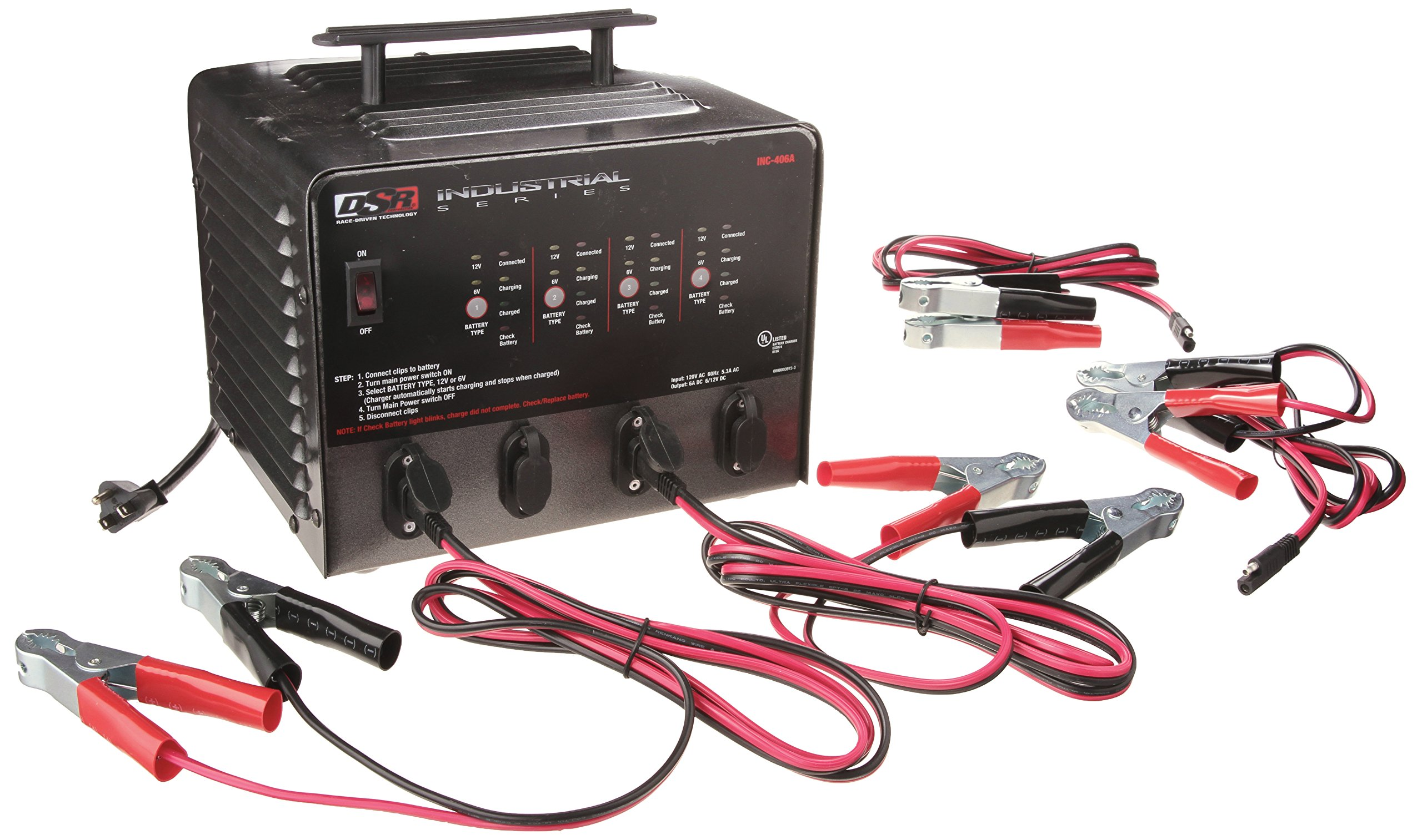 Schumacher INC-406A 6 Amp Automatic Microprocessor Charger