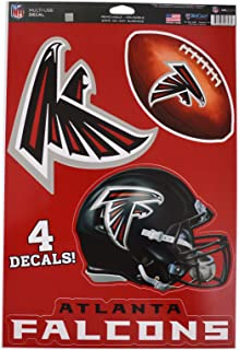 98d06c26e WinCraft Official National Football League Fan Shop Licensed NFL Shop  Multi-use Decals (Atlanta