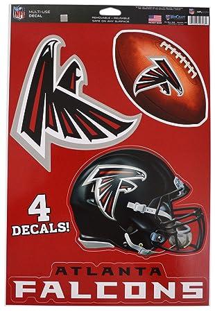 900e69454d3 Official National Football League Fan Shop Licensed NFL Shop Multi-use  Decals (Atlanta Falcons