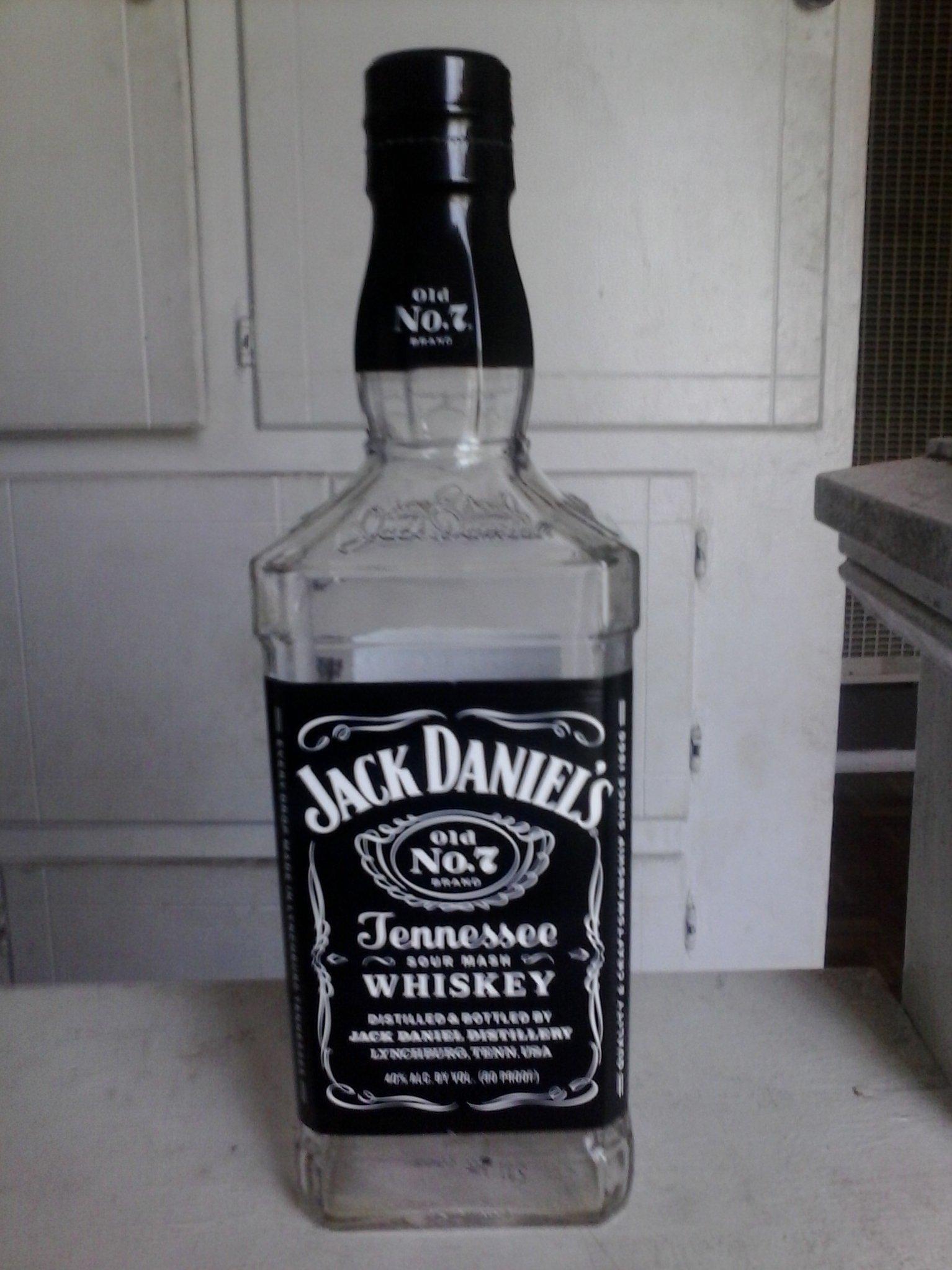 Empty Jack Daniels Whisky Bottle 750 Ml | eBay