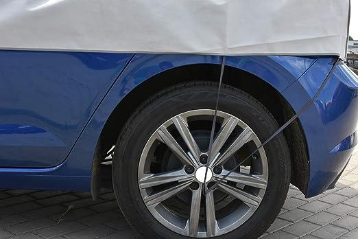 Winter M L Schutzplane Sonnenplane Schutz Vor Sonne Und Frost Geeignet Für Vw Golf Vi Plus 2008 2014 Halbgarage Auto