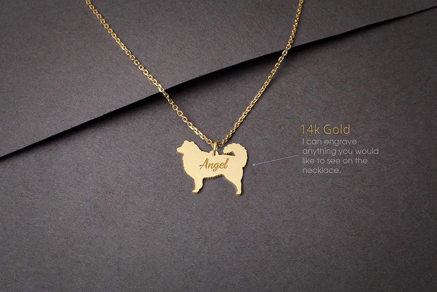 Personalised Necklace Dog breed Jewelry Australian Shepherd Name Jewelry Dog Necklaces AUSTRALIAN SHEPHERD NAME Necklace
