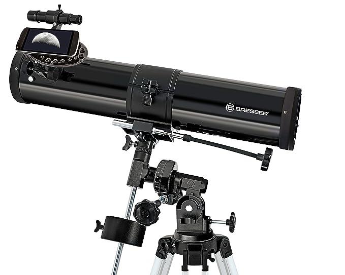 Bresser teleskop 76 700 saturn explorer eq: amazon.de: kamera