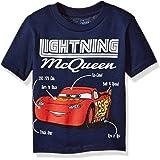 Disney Toddler Boys' Lightning McQueen Short Sleeve T-Shirt