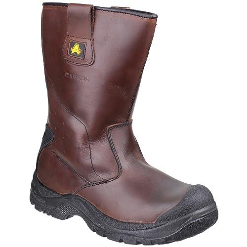 AS249 Cadair Waterproof Pull on Rigger Boot UK 7 EU 41
