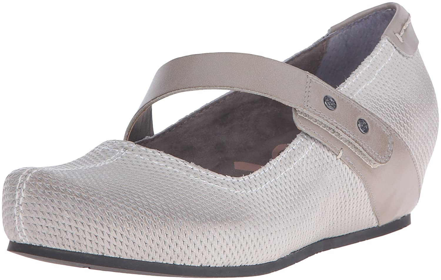 OTBT Women's Salem Mary Jane Flat B017AJ0E2C 6 B(M) US|Steel