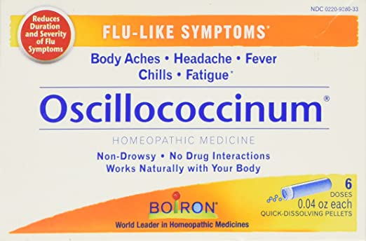 Boiron Oscillococcinum for Flu