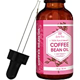 #1 TRUSTED Coffee Bean Oil by Leven Rose - 100 % Natural Pure Cold Pressed Unrefined Coffee Bean Oil - 1 oz Bottle (1 ounce)