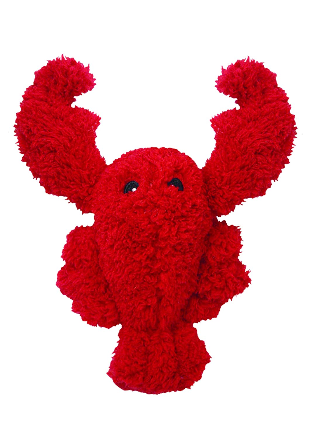 Multipet's Look Who's Talking Plush Lobster Dog Toy 7.5 Inch
