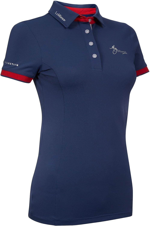LeMieux Womens My Shirt Short Sleeve Polo Top