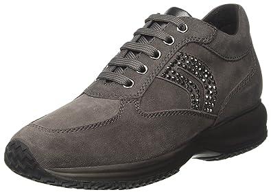 Geox Women's D Happy C Low Top Sneakers: Amazon.co.uk: Shoes