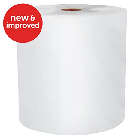 Amazon.com: Wypall X60 Reusable Cloths (34955), White, Jumbo Roll, 1100 Sheets / Roll, 1 Roll / Case: Industrial & Scientific