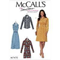 MCCALL 's Patrones de Costura para Camisas, Vestidos