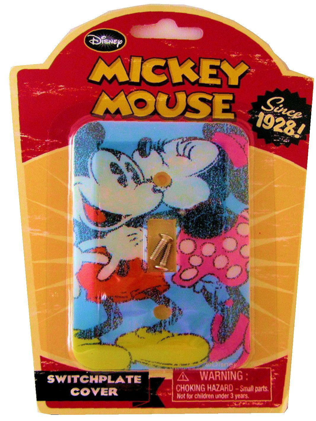 Vintage Disney Mickey and Minnie Mouse Switch Plate Cover Momentum