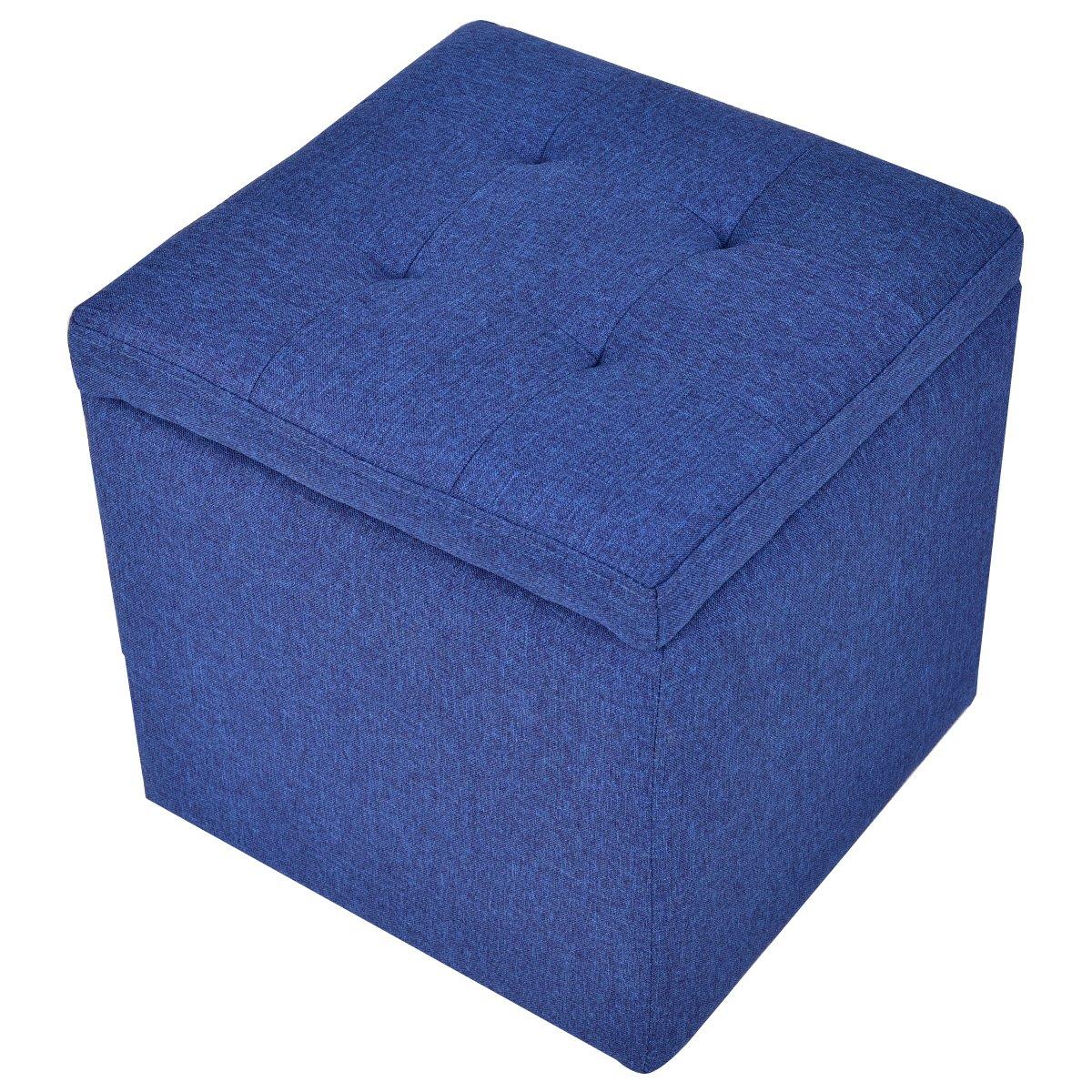 COSTWAY Sitzhocker mit Stauraum Sitzwürfel Sitzbox Sitzbank ...