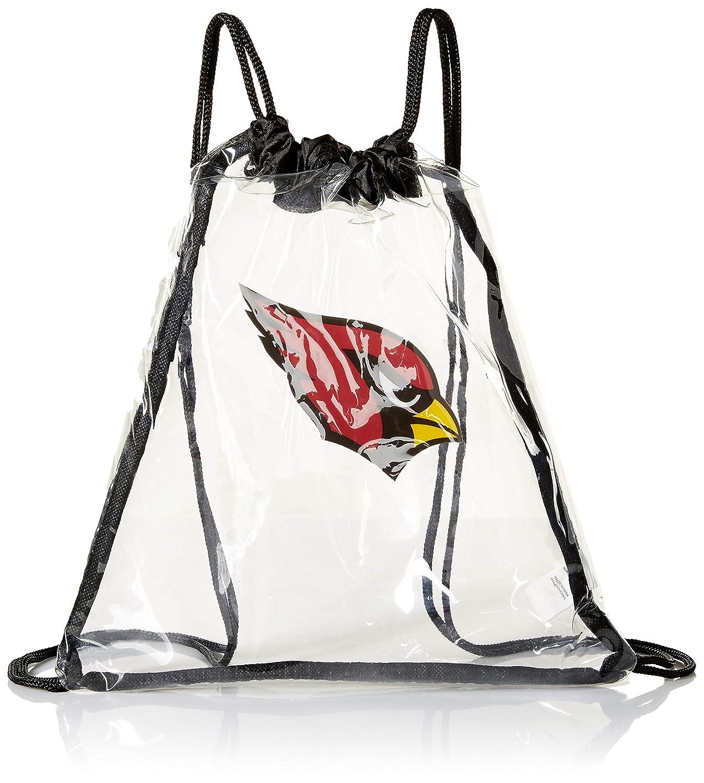 無料配達 NFL Arizona Arizona CardinalsクリアDrawstringバックパック,レッド, NFL One Size One B00F0MP7X8, 北海道大自然の力熊笹本舗:dc37dc77 --- vanhavertotgracht.nl