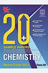 20 Plus CBSE Sample Papers Chemistry Class 12 for 2021 Exam with Reduced Syllabus Kindle Edition