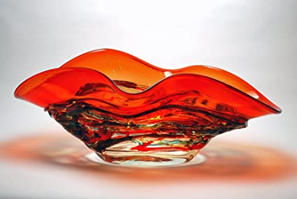 Amazon Com Decorative Bowls Murano Glass Ravenna