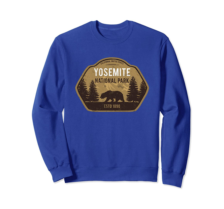 Yosemite National Park Bear Sweatshirt California Vintage-ah my shirt one gift