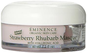 Eminence Strawberry Rhubarb Masque (2 oz) Pevonia Botanica Micro-Emulsion Massage Cream (Salon Size) - 200ml/6.8oz